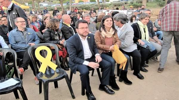 28A.- ERC Tras El Permiso De La JEC: 'Junqueras Romperá La Mordaza. No Querían Caldo, Dos Tazas'