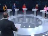 Los seis debatientes en TVE