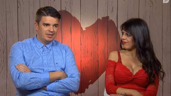 José y Cristina, en 'First dates'.