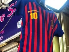 Camiseta falsa del Barcelona