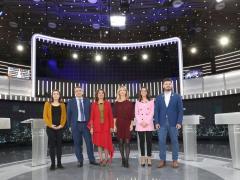 28A Debate.- Álvarez de Toledo y Montero (PSOE) se encaran por Cataluña: 'repita