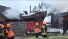 Una avioneta se estrella contra una vivienda en Chile