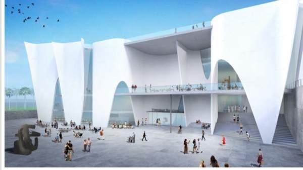 Futuro proyecto del Hermitage en Barcelona a cargo de Toyo Ito.