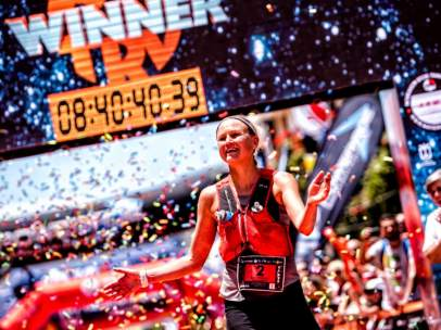 Ida Nilsson, triple vencedora de Transvulcania