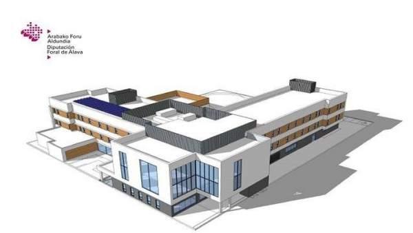 Diputación Álava estima que la nueva residencia para mayores de Lakua podrían estar construida a finales del año 2021