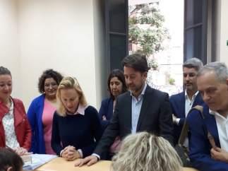 26M.- Alonso (CC) Presenta Una Lista Al Cabildo De Tenerife 'Diversa' Y Dispuesta A 'Romper La Política De Bloques'