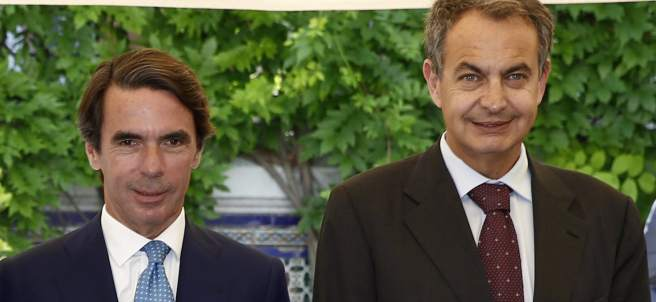 Aznar y Zapatero
