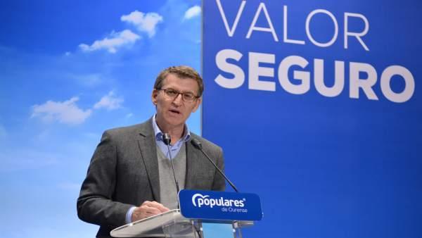 28A.-Feijóo habla de una España que 'de vacía no tiene nada' convencido de que 'el rural tendrá más actividad económica'