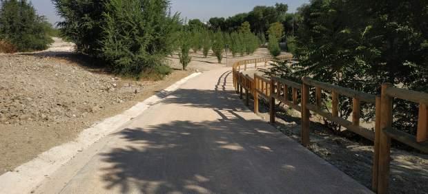 Nueva senda ciclable del Manzanares