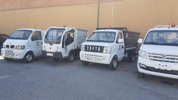 Jaén.- El Ayuntamiento de Úbeda incorpora vehículos al servicio de limpieza viaria con una inversión de 164.000 euros