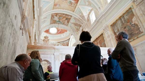 S.Santa.- La DPH abre las puertas de La Cartuja de Las Fuentes para volver a sorprender al público