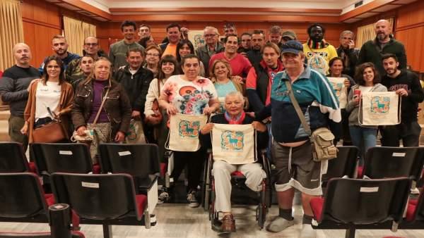 Córdoba.- Miembros de la Fundación Prolibertas visitan el Ayuntamiento para conocer su funcionamiento