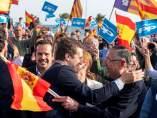 Pablo Casado, líder del PP, en un mítin en Palma de Mallorca.