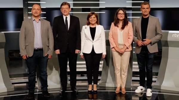 Debate elecciones valencianas