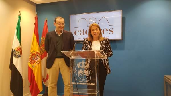 El PP de Cáceres mantiene que las listas no están cerradas y respeta la decisión de Rafael Mateos de no repetir