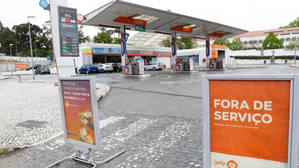 Huelga de transportistas de carburante en Portugal