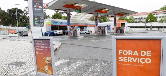 Huelga de transportistas de carburante en Portugal
