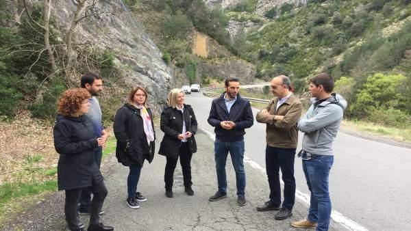 28A.- El PSOE Subraya Su Compromiso Con Las Carreteras De La Provincia De Huesca Y La 'N-260 'Es Un Buen Ejemplo'