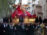 S.Santa.- El Viernes Santo sale también en procesión la cofradía 'oficial' de Murcia, una de las más antiguas de la ciud