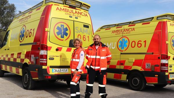 Sucesos.- Una joven de 22 años, grave tras sufrir una colisión con su moto en Formentera