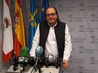 MARIO SUÁREZ DEL FUEYO, PORTAVOZ XIXÓN SÍ PUEDE EN EL AYUNTAMIENTO DE GIJÓN
