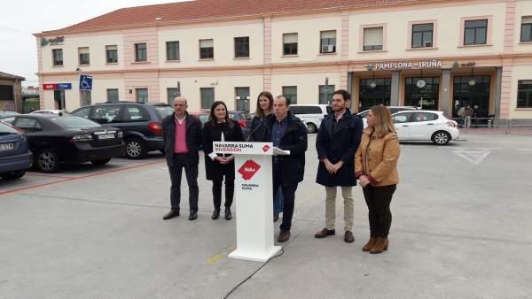 28A.- Navarra Suma Apuesta Por Infraestructuras Para La Comunidad Frente Al 'Intento De Nacionalistas De Paralizarlas'