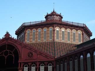 Mercado de Sant Antoni de Barcelona.