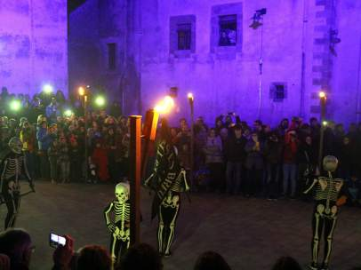 """La dansa de la mort"" en Verges, Girona."