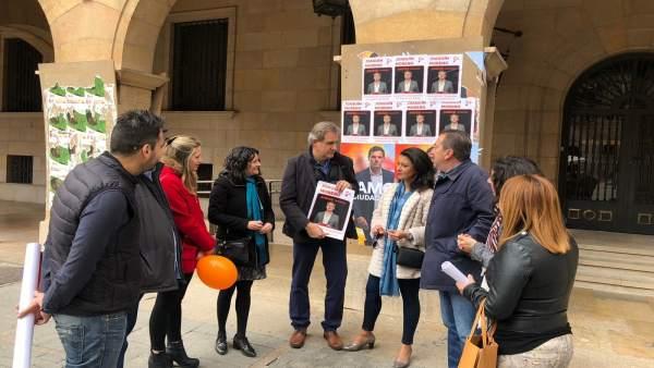28A.-Moreno (Cs): 'Si Rivera Es Presidente 'Teruel Tendrá Una Financiación Justa E Infraestructuras De Calidad'