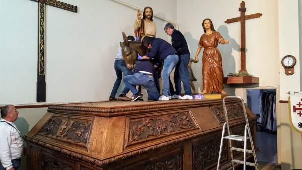 S.Santa.- El Hermano Mayor del Santo Sepulcro de Palencia asegura que 'ahora se hace más cofradía que antes'