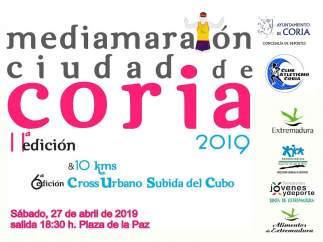 La Media Maratón 'Ciudad de Coria' discurrirá por el Valle del Alagón y el casco histórico cauriense