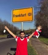 Aficionados del Benfica se confunden de Frankfurt