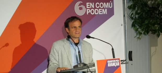 Ausencia de Jaume Ausens en el mitin de Barcelona