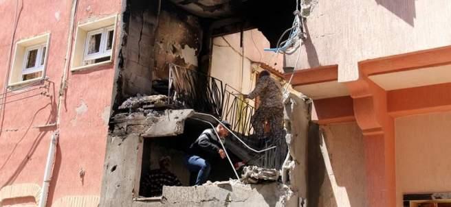 Bombardeo en Trípoli