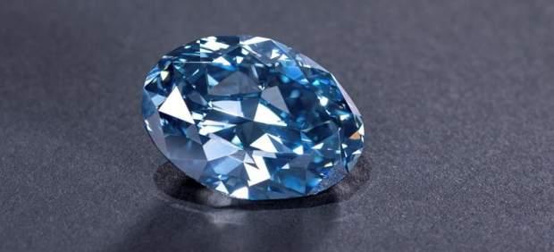 Diamante azul en Botsuana