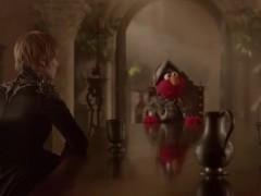 Elmo 'ficha' por 'Juego de tronos'