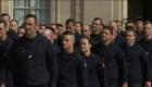 Homenaje a los bomberos que salvaron Notre Dame