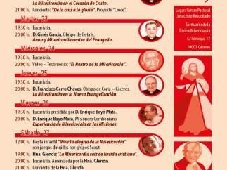 +++PARA FINDE+++ Tres Obispos Estarán Presentes En La Semana De La Divina Misericordia En Cáceres