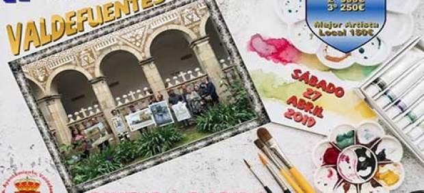 El II Certamen De Pintura Rápida Al Aire Libre De Valdefuentes (Cáceres) Repartirá 1.300 Euros En Premios