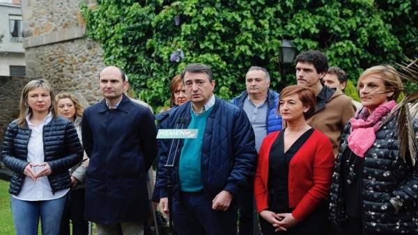 28A.-Esteban (PNV) Cree 'Vengonzosa' La 'Zapatiesta' De Los Debates Electorales Y Que En Ellos 'Se Denostará A Euskadi'