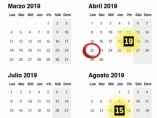 Calendario laboral y festivos