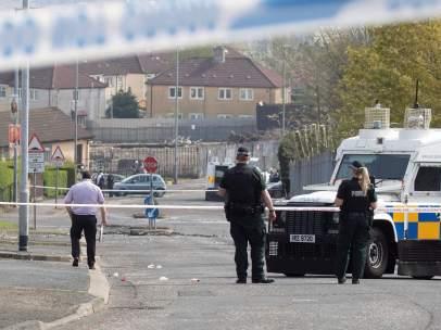 Asesinato Irlanda del Norte