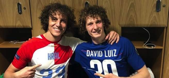 David Luiz y su doble, Alex Kral