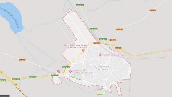 Sucesos.- El hombre herido en un accidente laboral en Alcázar ha sufrido policontusiones y está pendiente de evolución