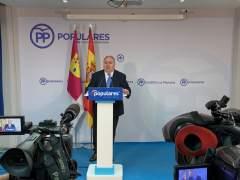 AMP.- 28A.- Vicente Tirado será el número uno del PP por Toledo al Congreso en sustitución de Cospedal