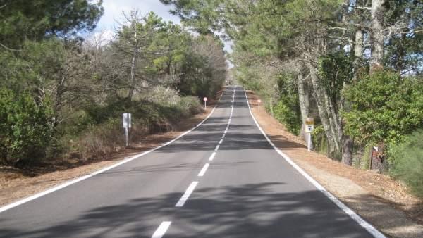 Huelva.- La Diputación invierte 650.000 euros en la mejora de diversas carreteras de la comarca de la Sierra
