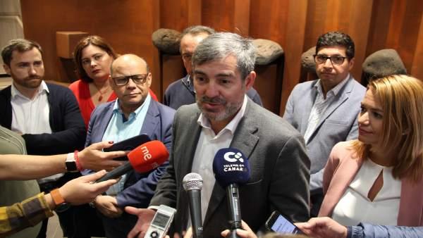 26M.- Clavijo Ve Un 'Fraude' Que Los Candidatos A Presidir Canarias No Encabecen La Lista Regional