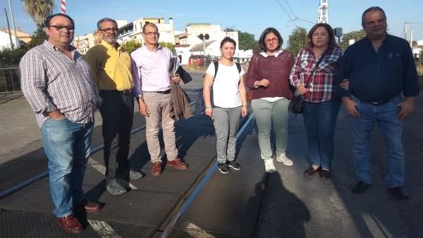 Córdoba.-28A.- Unidas Podemos muestra su 'total apoyo' a las reivindicaciones de la plataforma 'Vías Fuera de Alcolea'