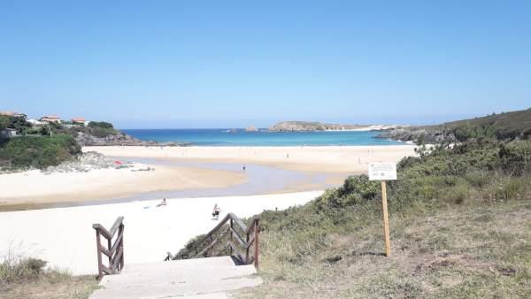Cerca del 96% de las zonas de baño de Galicia obtuvieron una clasificación excelente o buena en 2018