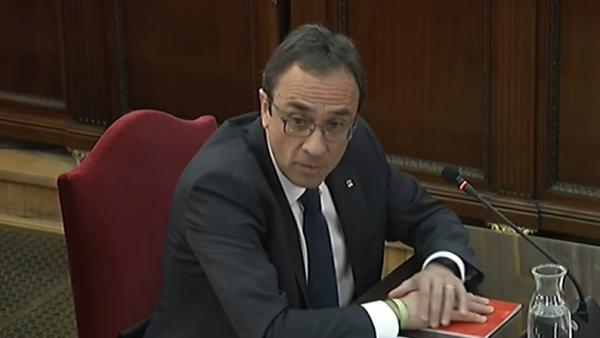 Nterrogatorio A Josep Rull En El Juicio Por El 'Procés'